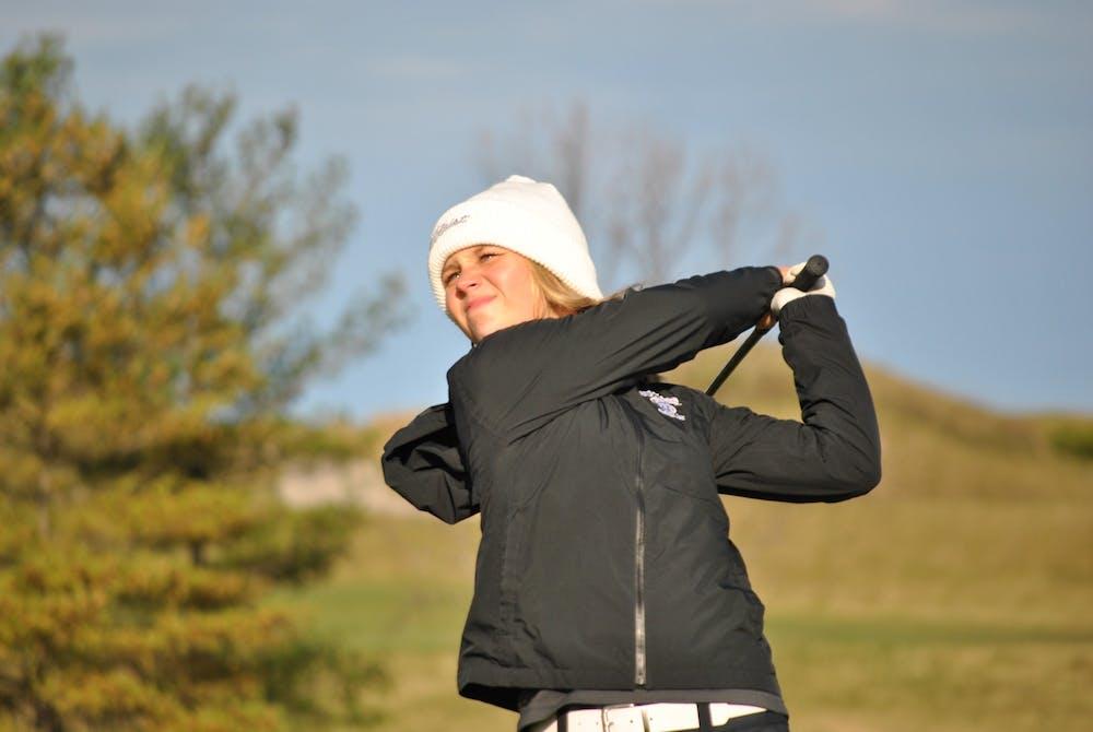 Fall golf season comes to a close last week