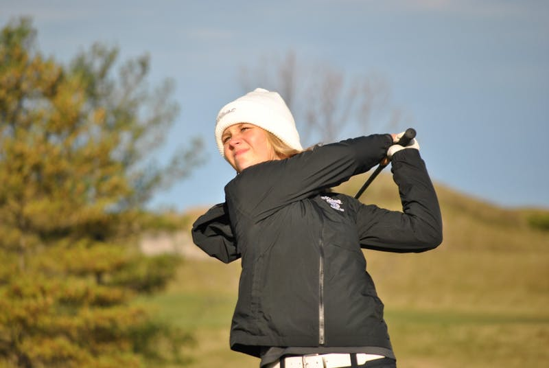 Senior Maddie Thomas took first in the Whistling Straits Championship.