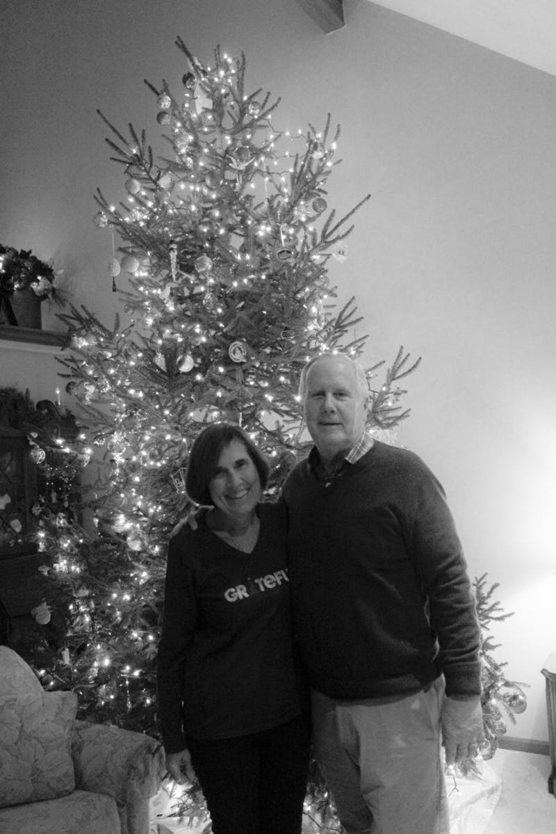 Ken and Joanne Taylor celebrate the Christmas season with tradition and joy.