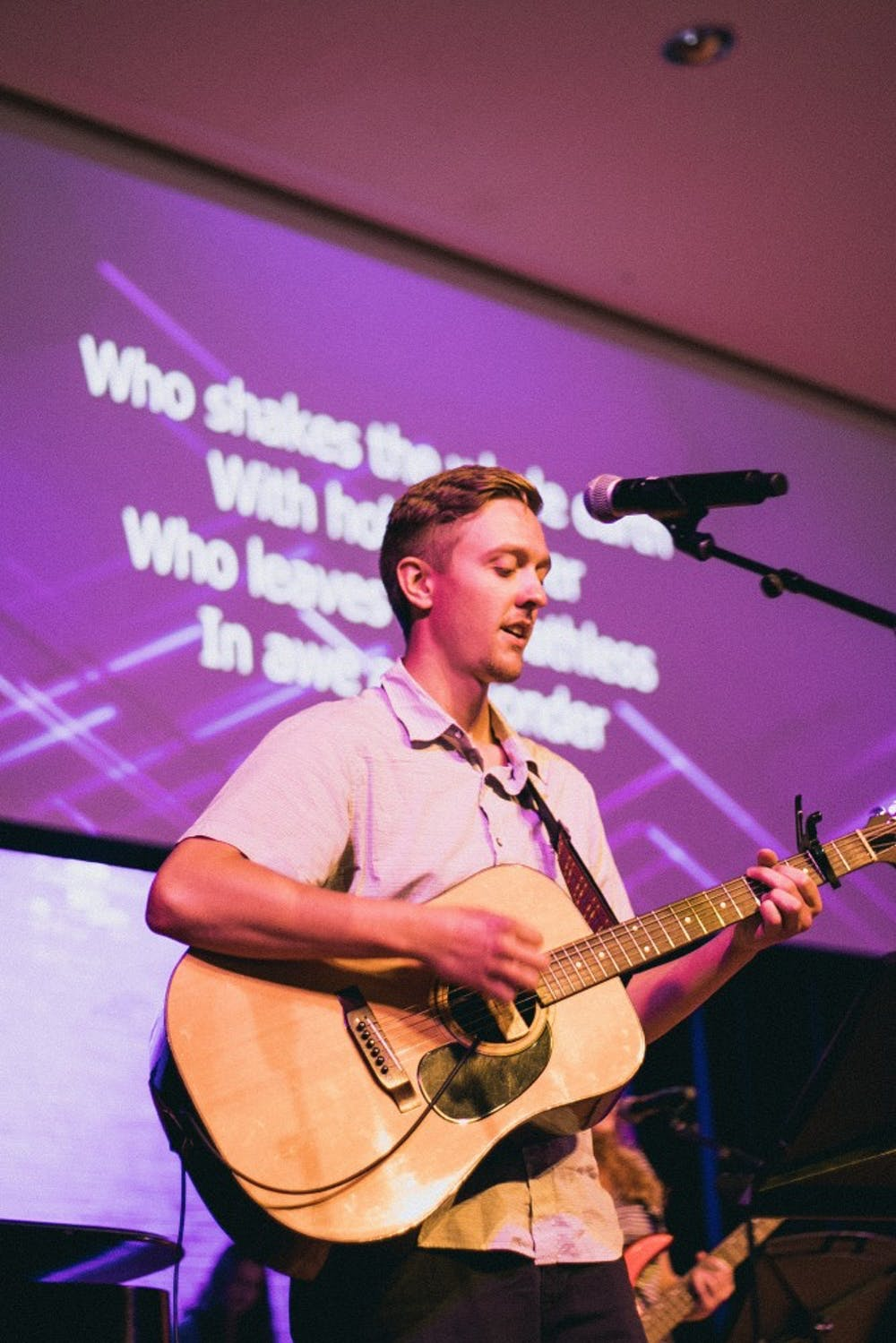 Six chapel bands unite Taylor community in worship