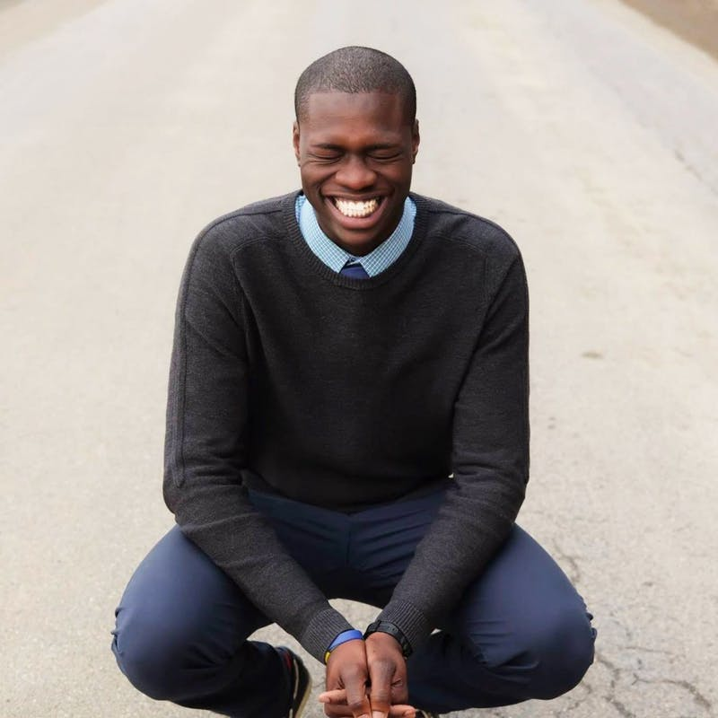 Joy emanates from Travis Trotman in all he does. (Photograph provided by Travis Trotman)