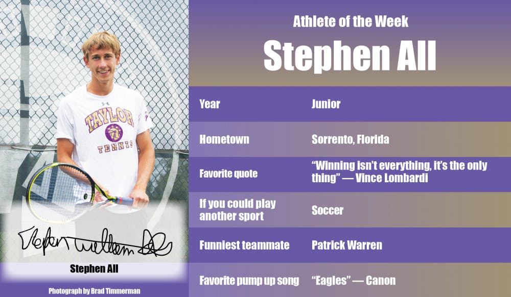 Athlete of the Week – Stephen All