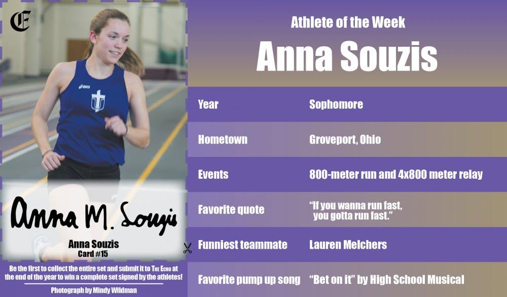 Athlete of the Week – Anna Souzis