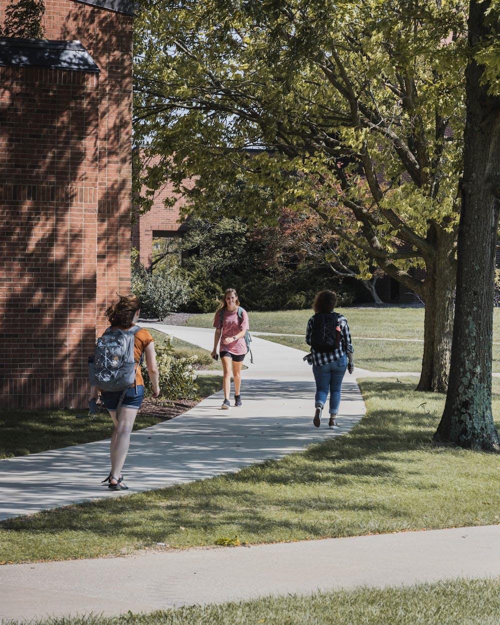 Students enjoy new pathway