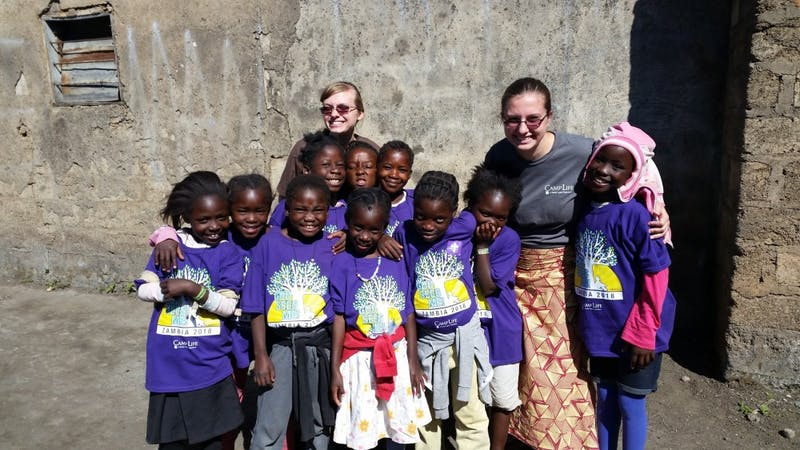 Sophomore Jeanna Evans served in Zambia with her family for eight years.
