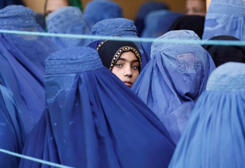 As countries pull out of Afghanistan, women are left fearful for the future under Taliban control. (Photo provided by Reuters)