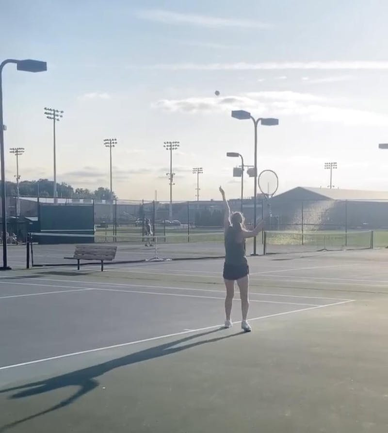Taylor Intramurals held a tennis season earlier this year