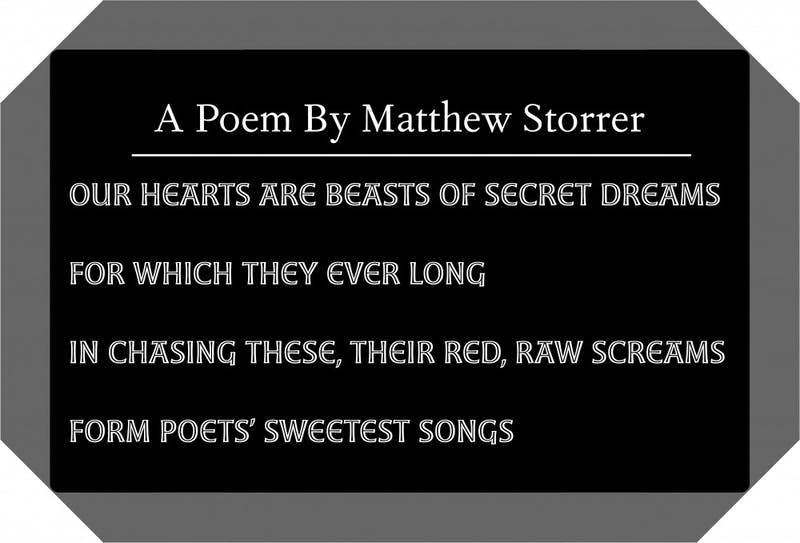 Graphic illustrated by Ian Proano. Poem by Matthew Storrer.