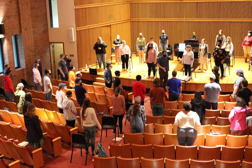 Reuniting musicians in performance in safe new ways