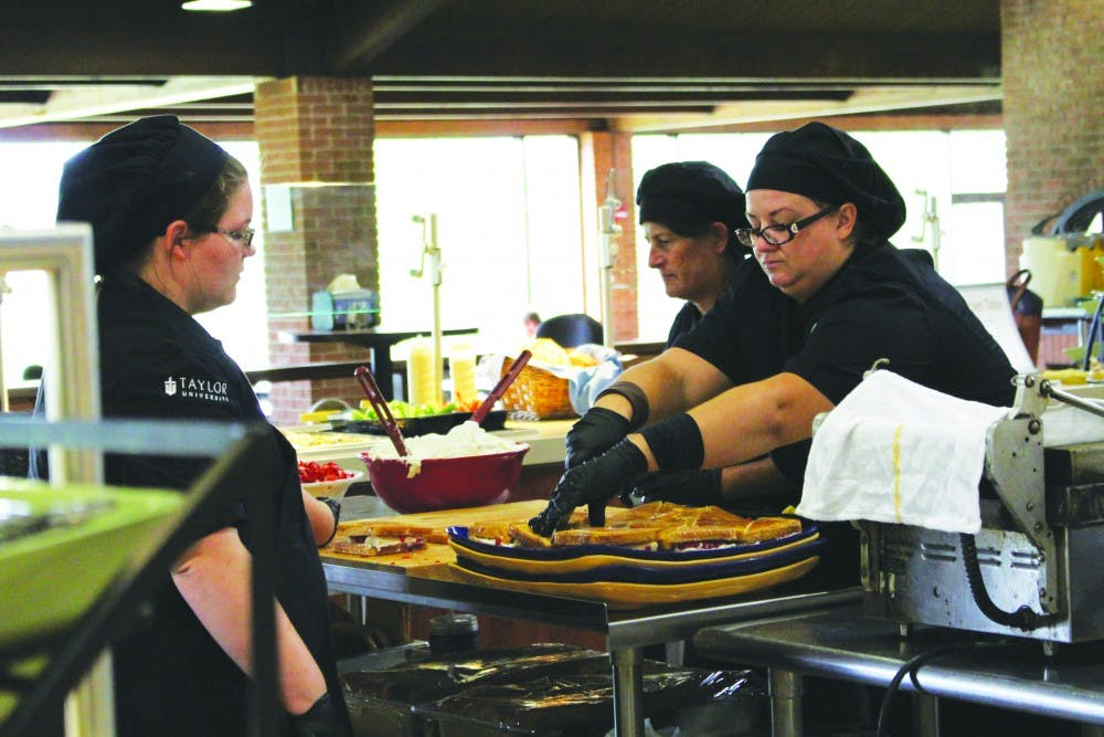Dining services seek positive change