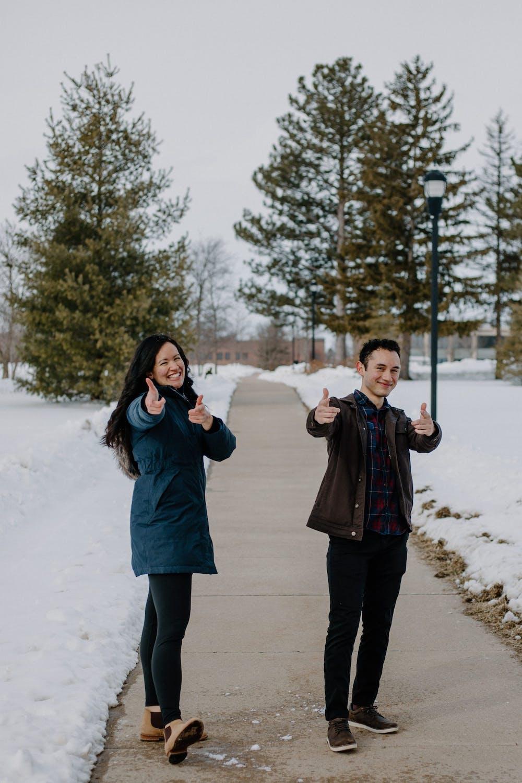 Student leadership shares hopes, goals