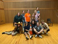 Rice Pilaf provides a space for students to embrace the art of improv
