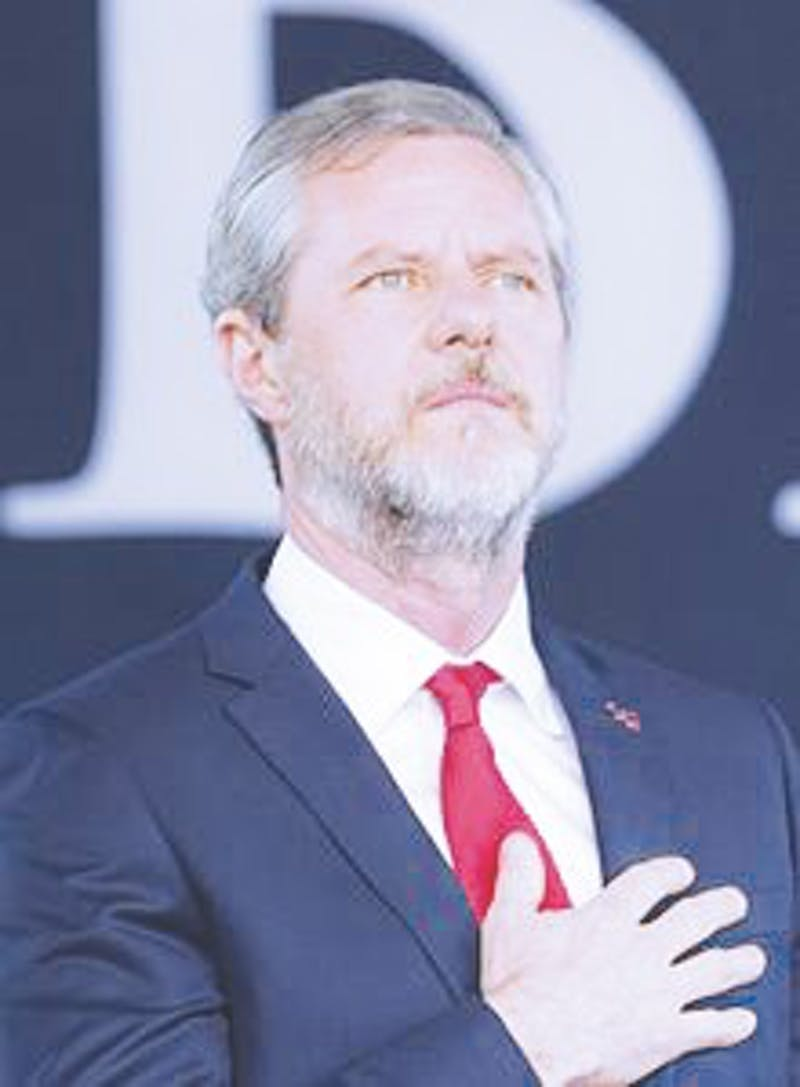 Jerry Falwell Jr. has made controversial statements about Christian politics.