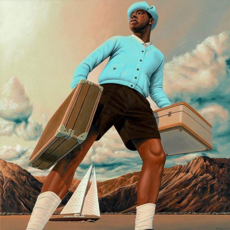 Tyler, the Creator released his sixth studio album, titled 'Call Me If You Get Lost,' on June 25. (Photo provided by Complex)