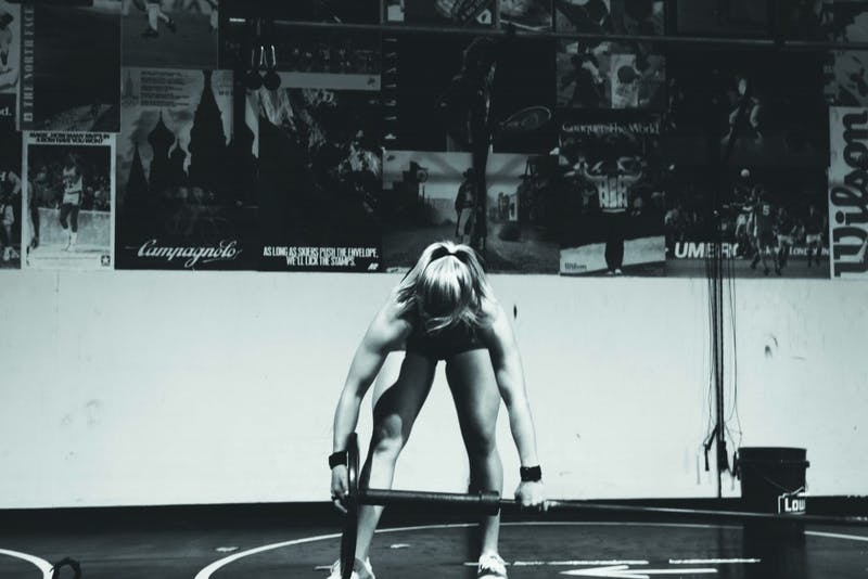 Junior Christiana Phillips trains hard to become CrossFit Level 1 certified. (Photograph provided by Ali Broersma)