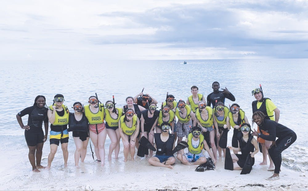 Taylor singers make a splash in the Bahamas