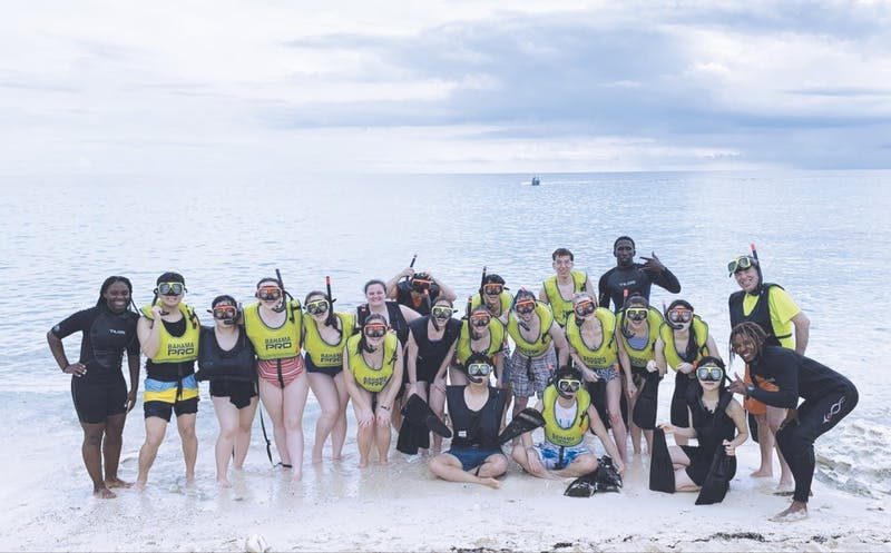 Taylor Sounds and Chorale visit the Bahamas this Spring Break.