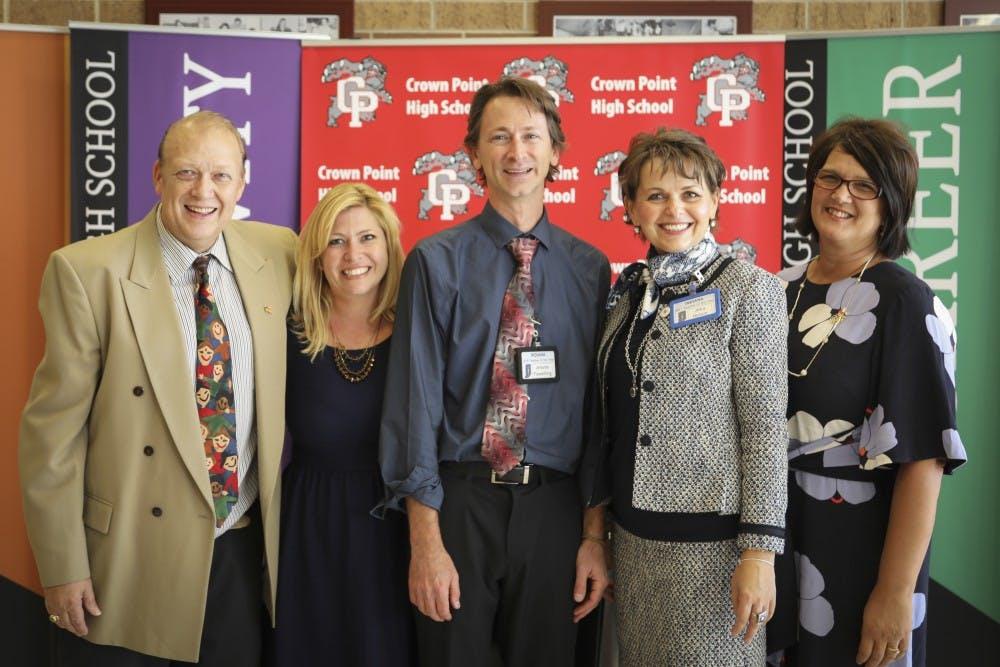 Taylor alumnus crowned Indiana's top teacher