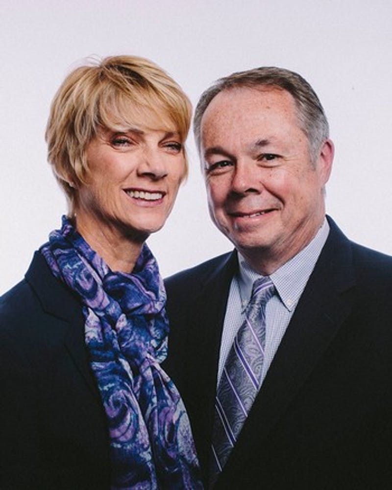 Paige Comstock Cunningham the current Interim President and her husband Jay Cunningham
