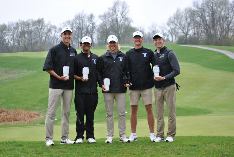 The men's team picked up their first overall victory this spring.