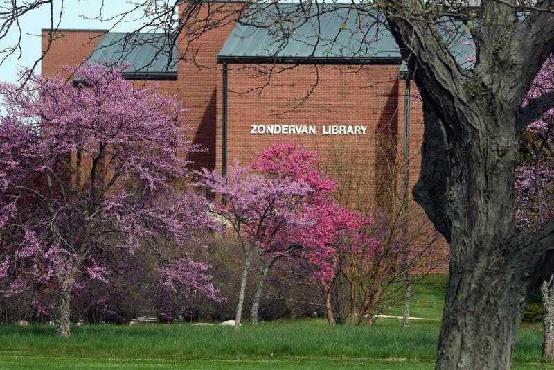 Zondervan Library increased their Sunday hours for student use. (Photo provided by Jim Garringer)