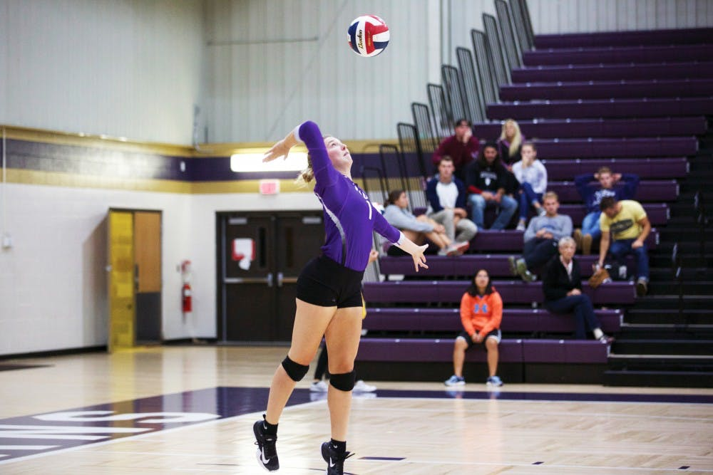 Volleyball is holding nothing back