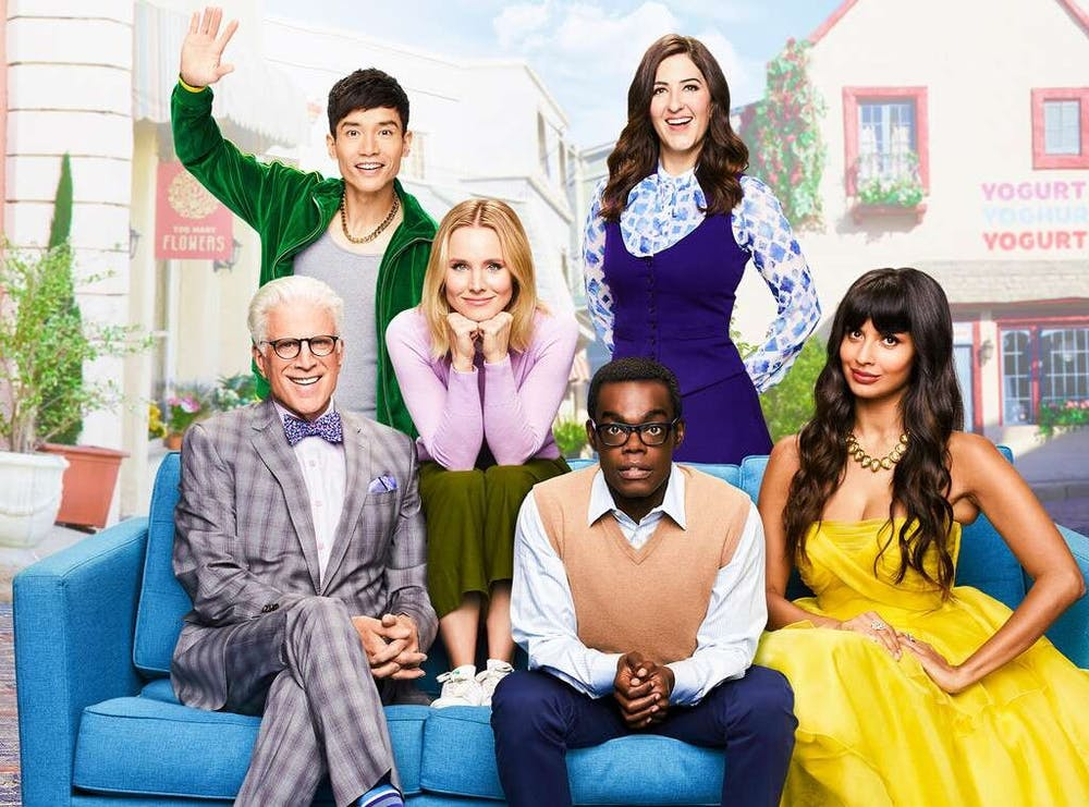 The Good Place' delivers existential laughs from the cosmos | The Echo