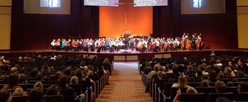The Marion Philharmonic plays in several different venues. (Photograph provided by Marion Philharmonic Orchestra)