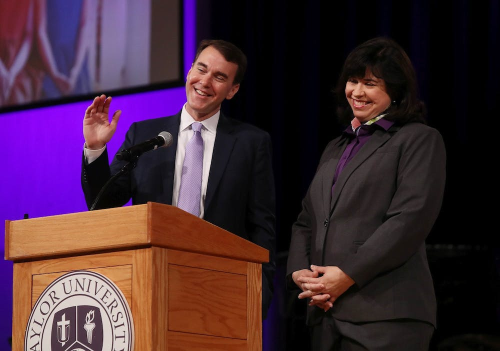Lindsay's inauguration set for Oct. 8