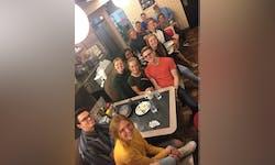 Third Breu and BroHo share a meal at Waffle House
