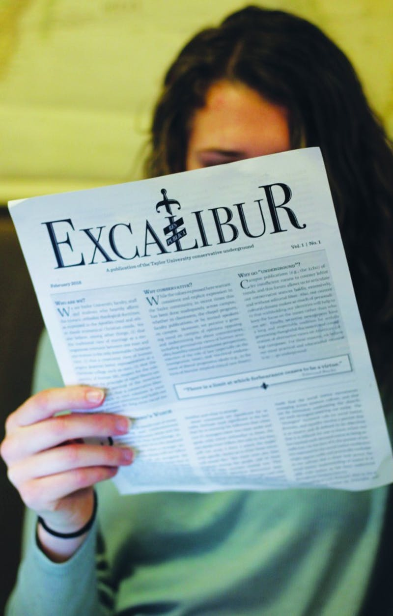 The Echo calls us to practice convicted civility in light of Excalibur. (Photograph by Riley Hochstetler)