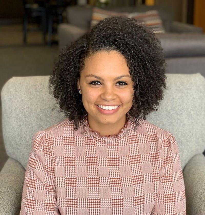 Monique Moss is the Rhythm and Praise program director.