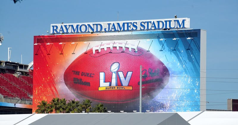 Super Bowl LV was played in Tampa, Fla on Sunday, Feb. 7