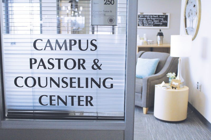Taylor's counseling center offers premarital counseling to couples in addition to its regular services. (Photo by: Josie Koontz)