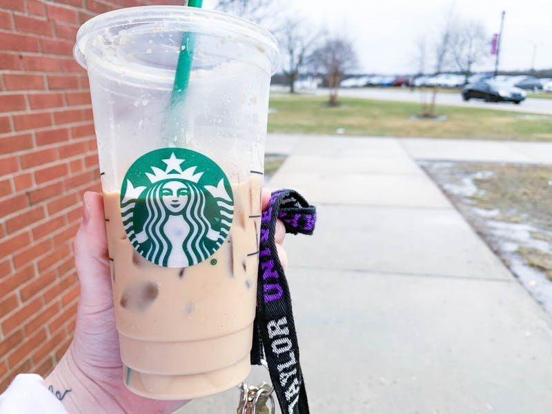 Here's an example of how students already have access to Starbucks drinks.