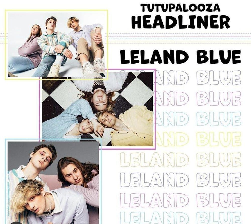 Leland Blue to headline Taylor's Tutupalooza