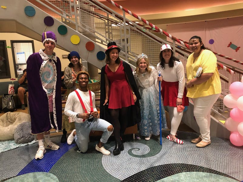 "The first group's presentation theme was based around ""CandyLand"" and took place on Oct, 14."