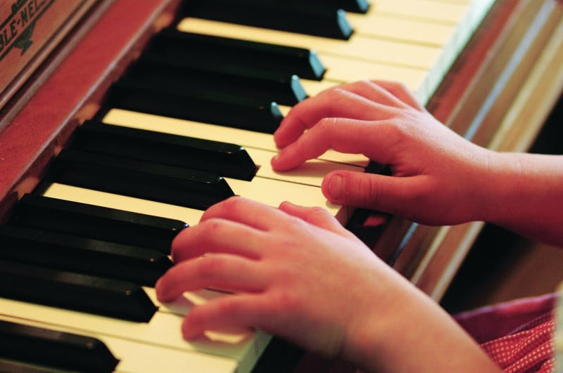 Come learn to play the piano! (Photo provided by Wikimedia)