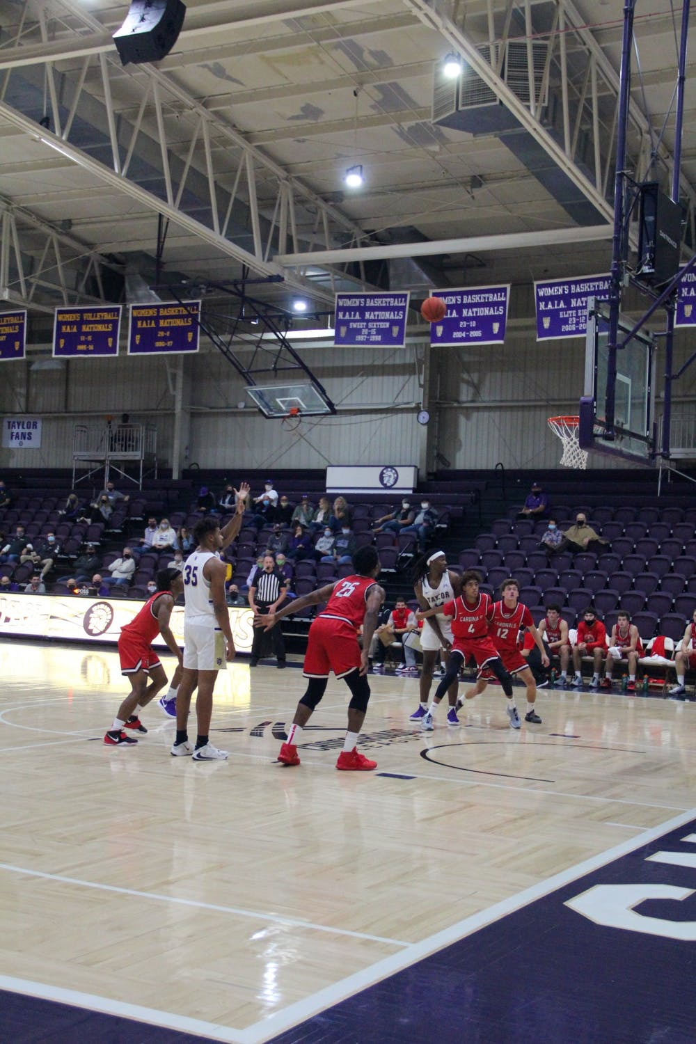 New look men's basketball team shows promise