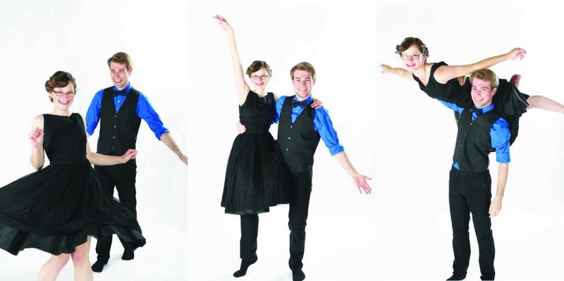 Swing dancers from previous years in the swing dancing club. (Photograph provided by Shannon Smagala)