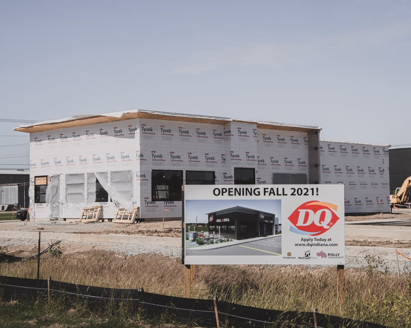 The Dairy Queen will be at 6091 E 500 S in Gas City. (Photo by Jude Tepper)