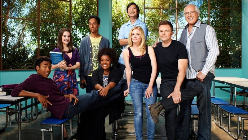 "The characters of ""Community"" grow from study group to family in their comedic adventures."