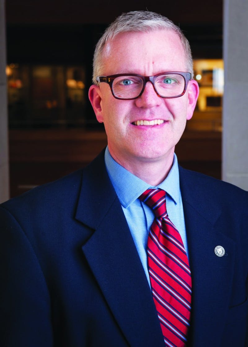 Dean of Humanities, Art and Biblical Studies Michael Hammond hopes to prioritize servant leadership in his new role as provost. (Photograph provided by Michael Hammond)