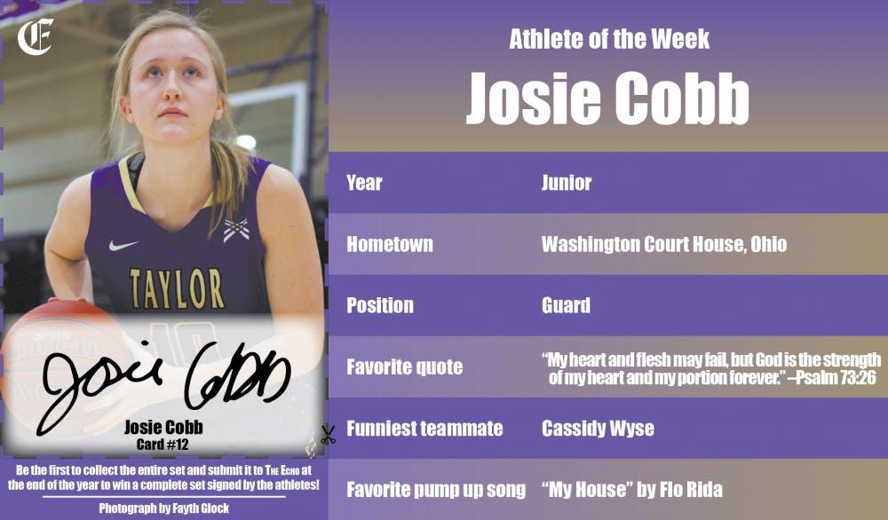 Athlete of the Week –Josie Cobb