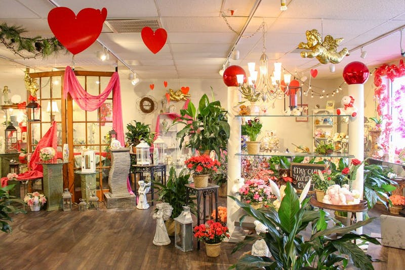 Owned by Don Howlett, Kelly's The Florist shop prepared over 1,600 orders for Valentine's Day this year.