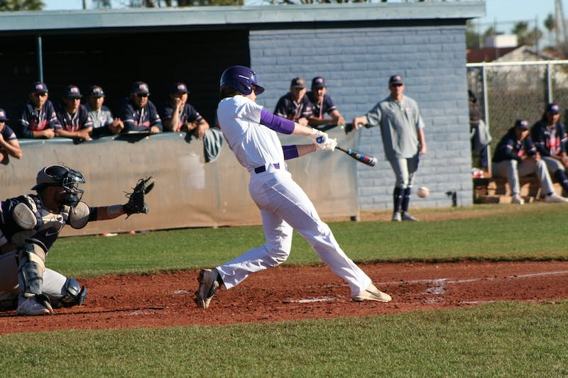 Taylor baseball went 2-1 against Lindsey Wilson College in a non-conference series.