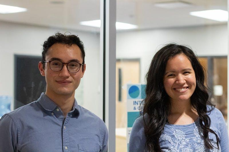 Sarah Mangan and Jorge Martinez de Santiago won the election.