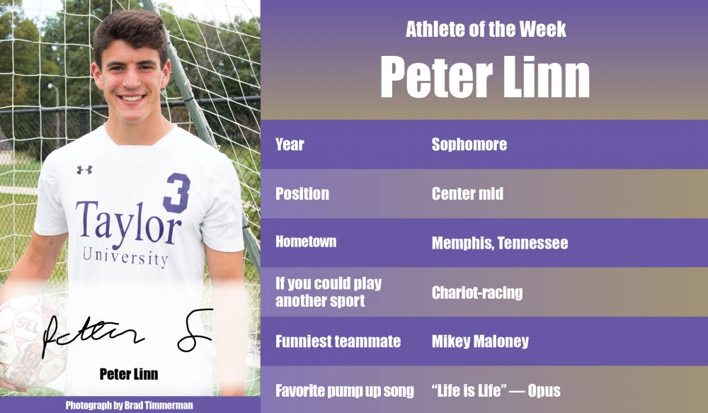 Athlete of the Week – Peter Linn