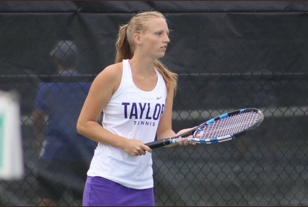 Hotmire serves up success for Taylor tennis club