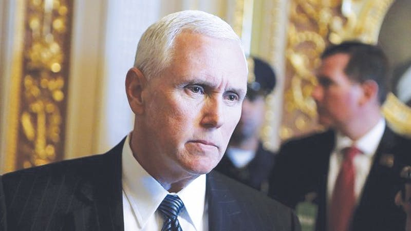 Mike Pence's appearance should prompt a reexamination of priorities.